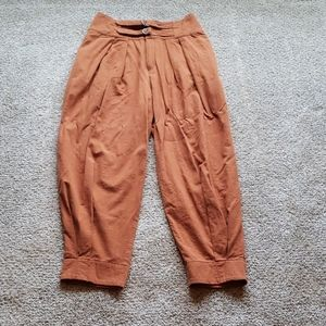Free People high waisted, cropped pants 6
